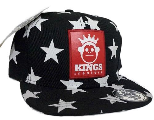 Kit 10 Bonés Aba Reta Snapback Kings Sneakers Stars Estrela à venda ... bf7476a41ab