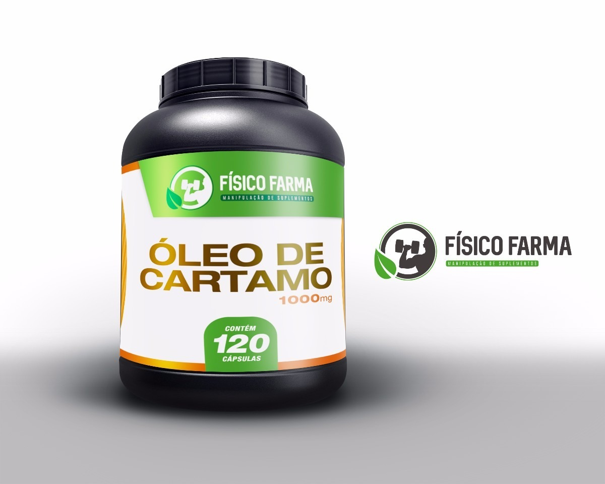 Óleo de Cártamo 1000mg 60 cápsulas (...
