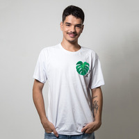 CAMISETA BRANCA - MONSTERA