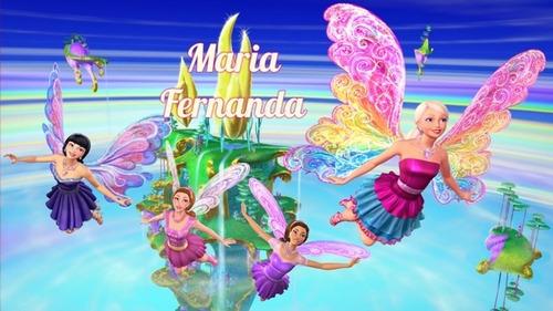 Painel Banner Decorativo Festa Barbie 1,5x1 Original