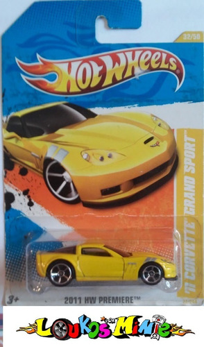 Hot Wheels Premiere ´11 Corvette Grand Sport 32/244  Lacrado Original