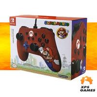 Controle Com Fio Para Nintendo Switch Edição Especial Super Mario - Power A