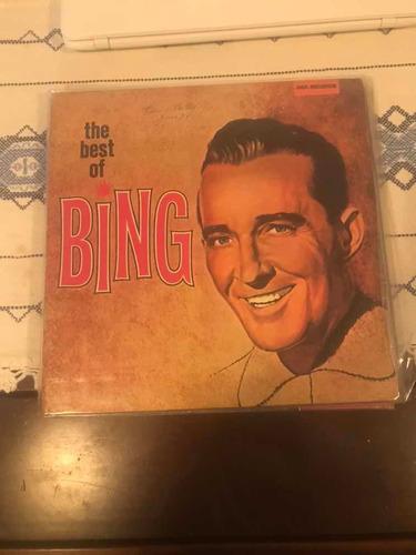 Lp Bing Crosby The Best Of Bing Original
