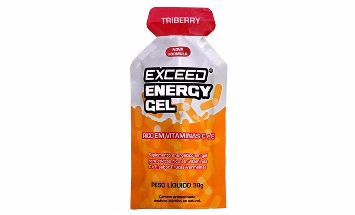 Exceed Energy Gel Triberry