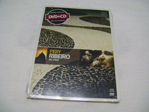 Dvd + Cd Pery Ribeiro Ao Vivo Original