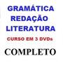 Aulas De Redação Literatura Gramática Curso Em 3 Dvds We
