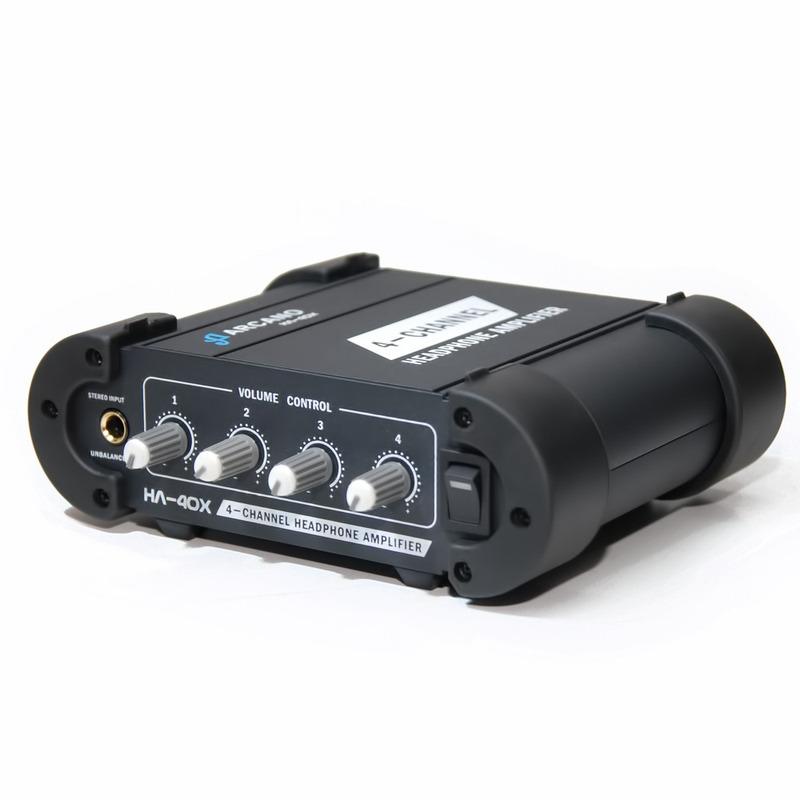 Amplificador De Fones Profissional Ha-40x Robusto 220v