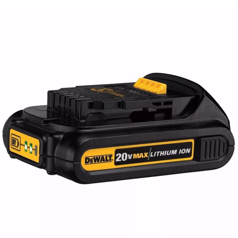 Bateria DeWalt 20V Max Compact 1,5 AH de Íon de Lítio