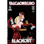 Falcão Negro Blackout 3 Volumes Howard Chaykin