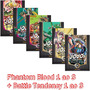 Jojo's Phantom Blood Completo Battle Tendency 1 A 3 Panini