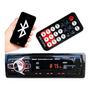 Mp3 Player Automotivo Bluetooth Pendrive Sd Rádio Som Toca