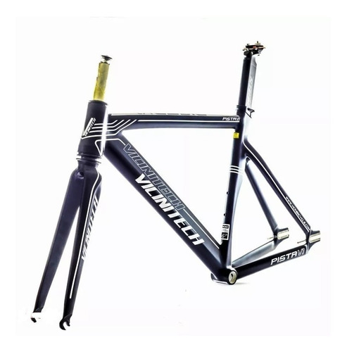 Quadro Vicinitech V7 Fixa Pista C/kit Canote Bicicleta Speed Original