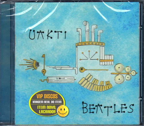 Cd Uakti Beatles - Novo Lacrado Raro Original