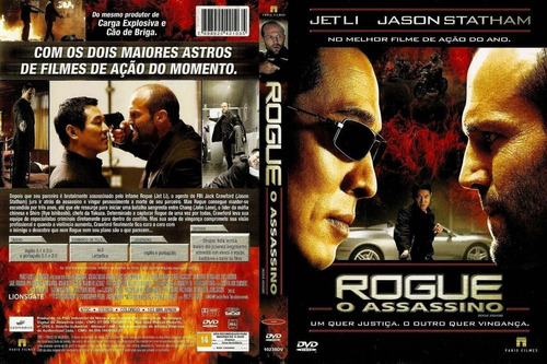 Rogue O Assassino Dvd  Novo Lacrado Original