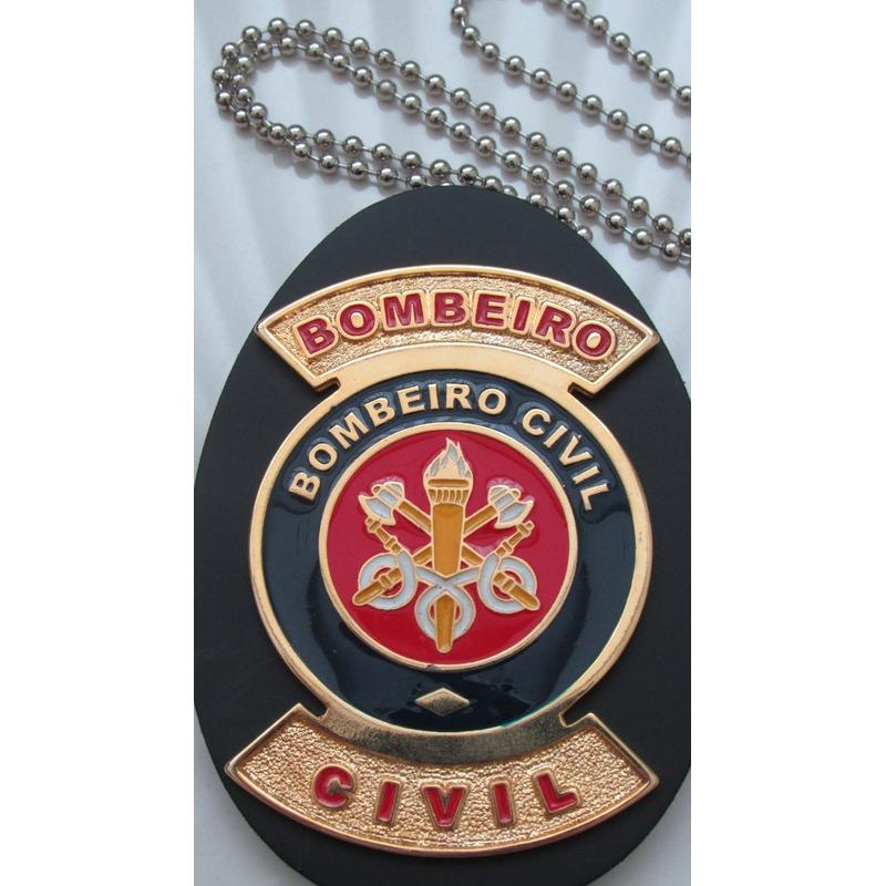 Distintivo BOMBEIRO CIVIL - Cordão