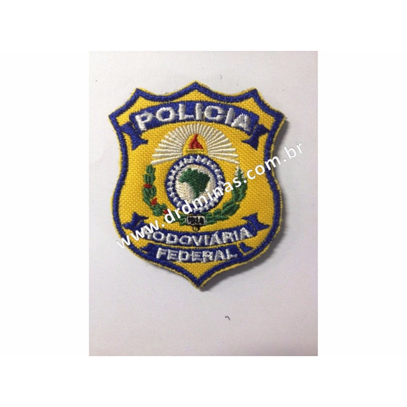 Patch / Distintivo Bordado PRF - U