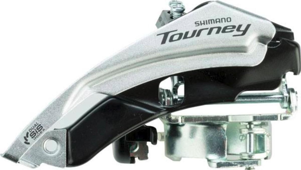 CÂMBIO DIANTEIRO SHIMANO TOURNEY DUAL PULL FD-TY500