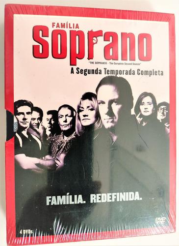 Familia Soprano - 2ª Temporada - 4 Dvds - Novo Orig. Lacrado Original