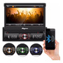 Dvd Retrátil Quatro Rodas Usb Sd Bluetooth Mtc6617 Micro Sd