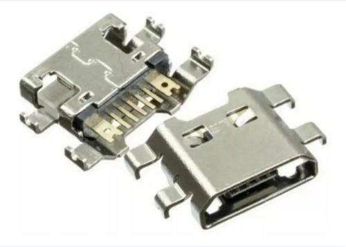 2 Conectores De Carga Dock Usb LG K10 M320 Power Original