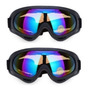 Kit Com 02 Óculos Motocross Surf Paintball Airsoft Bike X400