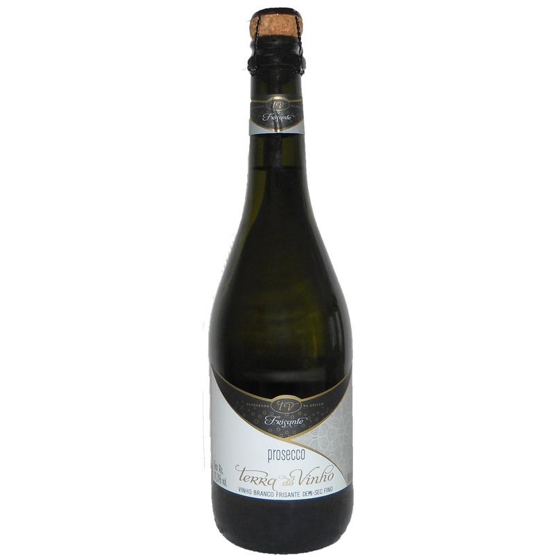 Prosecco Frisante Demi-Sec Branco Fino 660ml - Adega Terra do Vinho