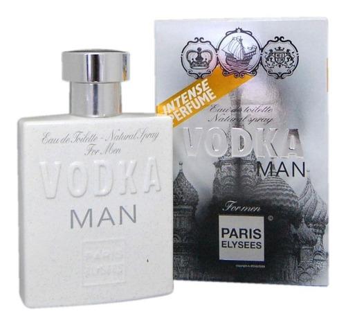 Vodka Man Paris Elysees Masc. 100 Ml-lacrado Original