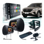 Kit Central Multimídia Android Hundai Creta Gps Camera Tv Par Telas Encosto Espelhamento iPhone