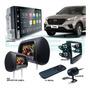 Kit Central Multimídia Android Hundai Creta Gps Camera Tv Par Telas Encosto Espelhamento iPhone