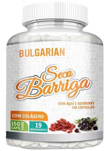 Seca  Barriga + Goji Berry + Colageno + Chia 500mg 150 Caps Original