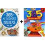 Kit Com 2 Livros Bíblicos 365 Atividades / 365 Historias