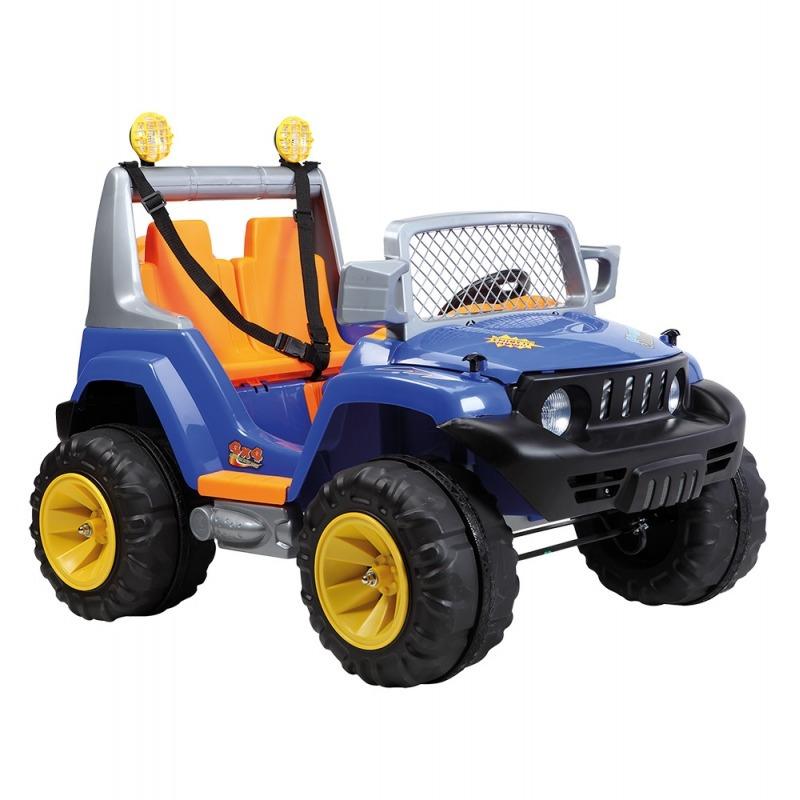 Jeep 2 Criancas Off Road A18 Azul 933202 Belfix