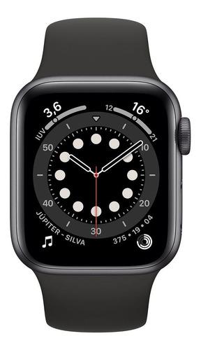 Relogio Apple Watch Series 6 44mm Red Aluminum Gps Novo Original