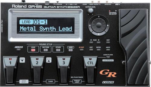 Pedaleira Sintetizadora Para Guitarra Gr-55 Gk Roland Original