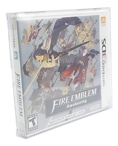 Games-22 (0,30mm) Caixa Protetora P/ Case Nintendo 3ds 10un Original