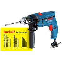 Furadeira de Impacto 13mm 550w + 1 Kit de Brocas GSB 550 RE - Bosch
