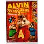 Álbum Alvin E Os Esquilos 3 Ano 2011 Com Óculos 3d