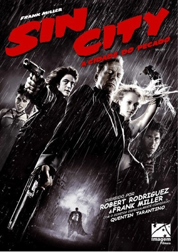 Dvd Sin City A Cidade Do Pecado -  Lacrado Original