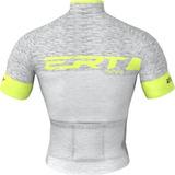 Camisa Ciclismo Mtb Ert Elite Racing Prata