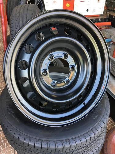 Roda De Ferro Toyota Hilux Aro 17 Original -- Tudo Bem Pneus