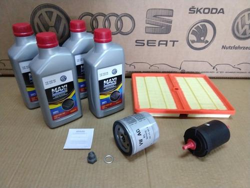 Kit Revisão Up! Tsi Com Filtro Ar Motor 04c129620a