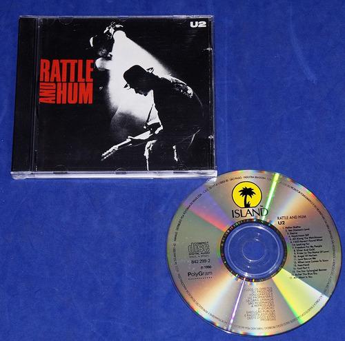 U2 - Rattle And Hum - Cd - 1990 Original