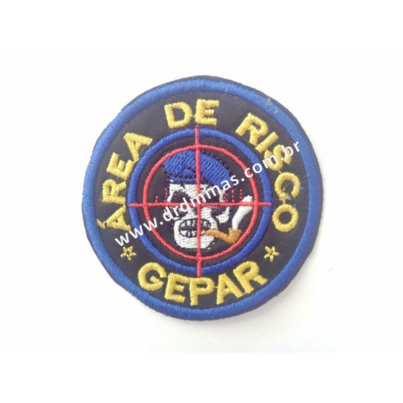 Patch / Distintivo Bordado GEPAR - I
