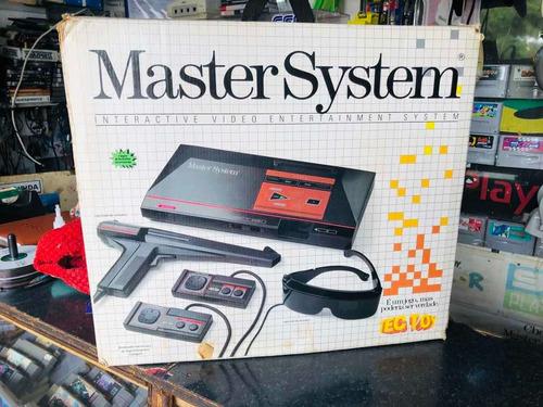 Sega Master System 1 Tec Toy Na Caixa Original
