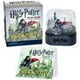 Livro Harry Potter Snow Globe And Sticker Kit
