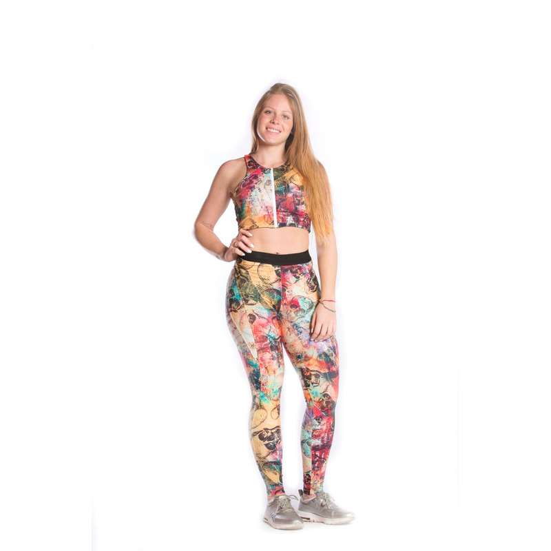 Legging Montaria Elastico Light Plus Caveira