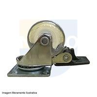 Rodizio Silicone 50 mm - Hafele - 661.71.401 - Sem Freio