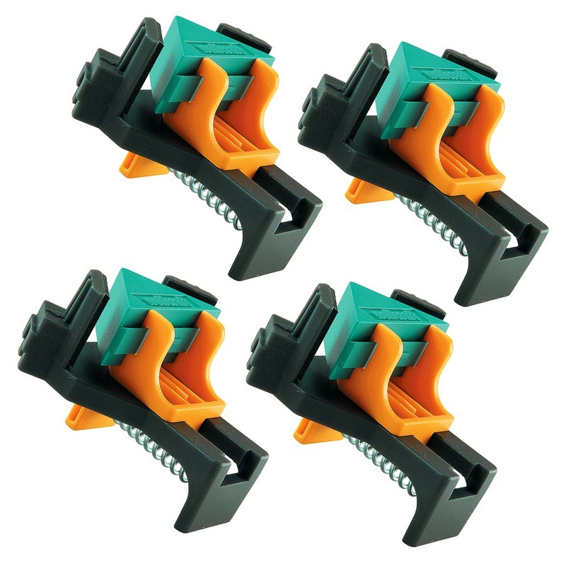 Kit 2 cartelas (4 unidades) sargento clip angular - 305100 - wolfcraft