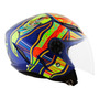 Capacete Agv Blade Five Continents Azul #