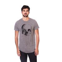 Camiseta Long Island Skull Grafite